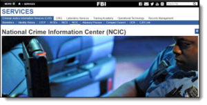NCIC Database | Baldwin Legal Investigations